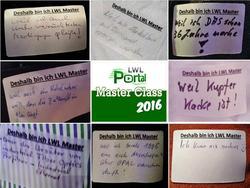 LWL Portal Master Class 2016 Teilnehmer