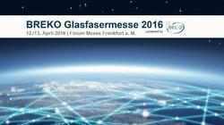 BREKO Glasfasermesse 2016 - powered by BEL2