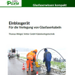 Einblasgerät - Für die Verlegung von Glasfaserkabeln