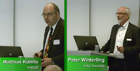 Peter Winterling und Matthias Kumitz auf der BREKO Messe 2016